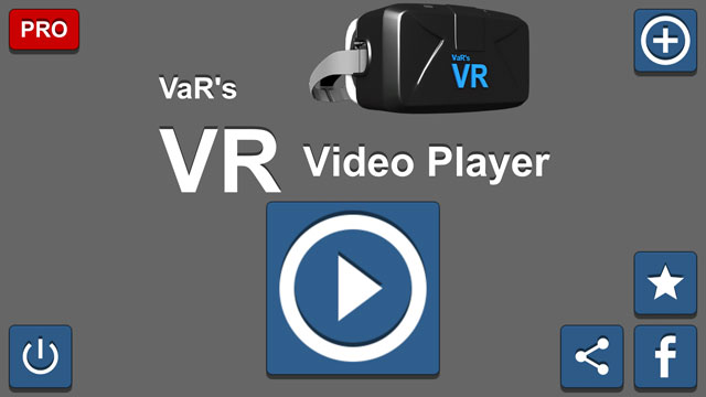 VaR's VR Video Player