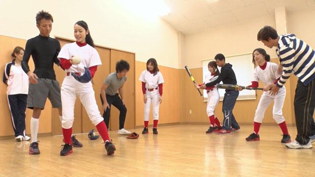 中出しJAPAN~ソフトボール部の強化合宿~