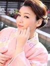 着物姿の内田美奈子